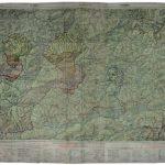 Die Frau von Türnitz, over-drawn map, 67 x 82 cm, 2017